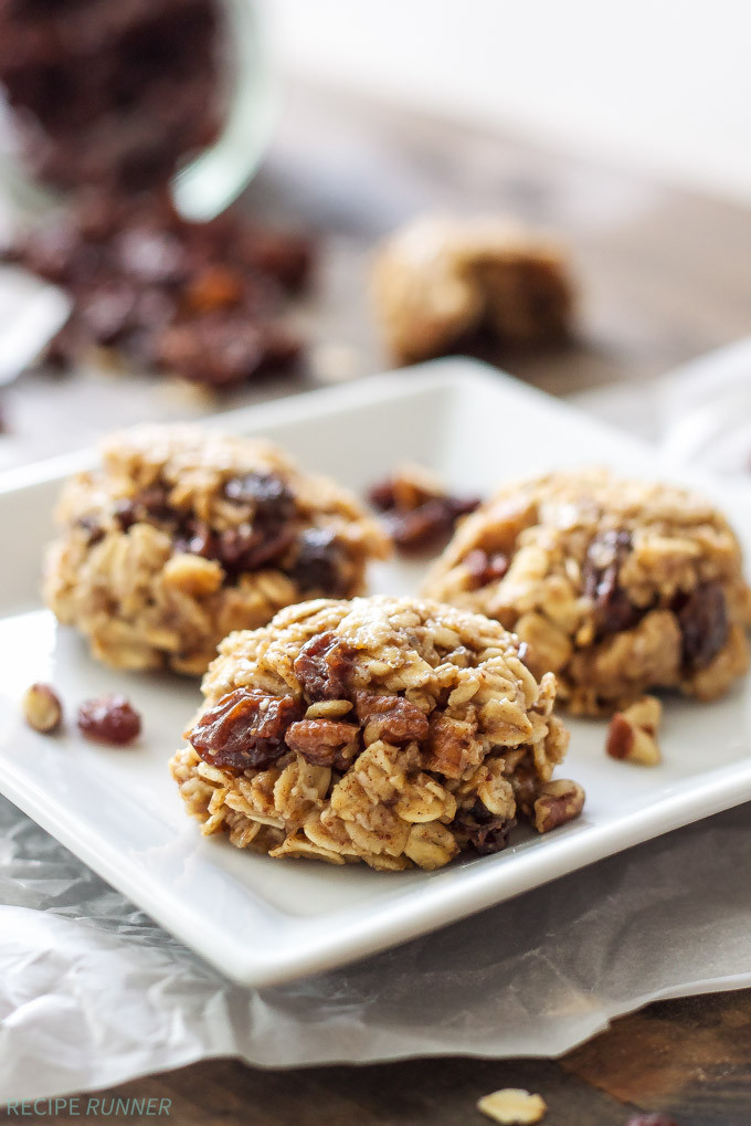 No Bake Healthy Oatmeal Cookies  Healthy No Bake Oatmeal Raisin Cookies Recipe Runner