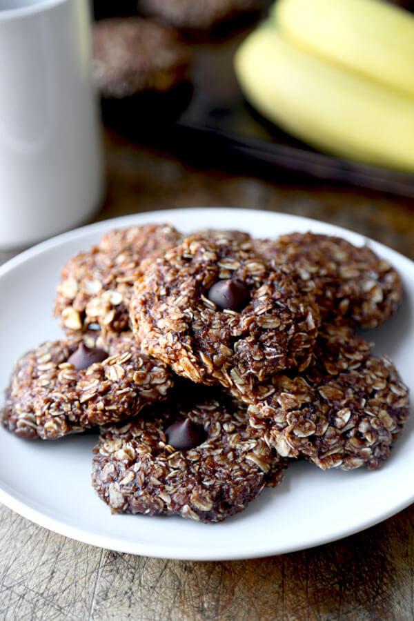 No Bake Healthy Oatmeal Cookies  healthy no bake oatmeal cookies