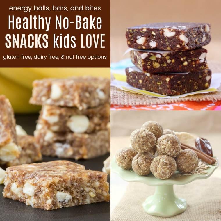 No Bake Healthy Snacks  Healthy No Bake Snacks Kids Love Cupcakes & Kale Chips