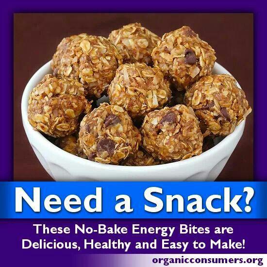 No Bake Healthy Snacks  No bake snack healthy eats
