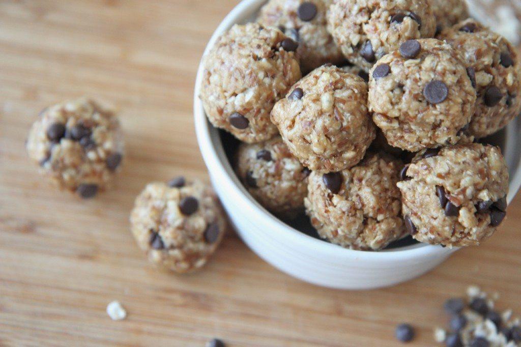 No Bake Healthy Snacks  Healthy No Bake Energy Bites Recipe