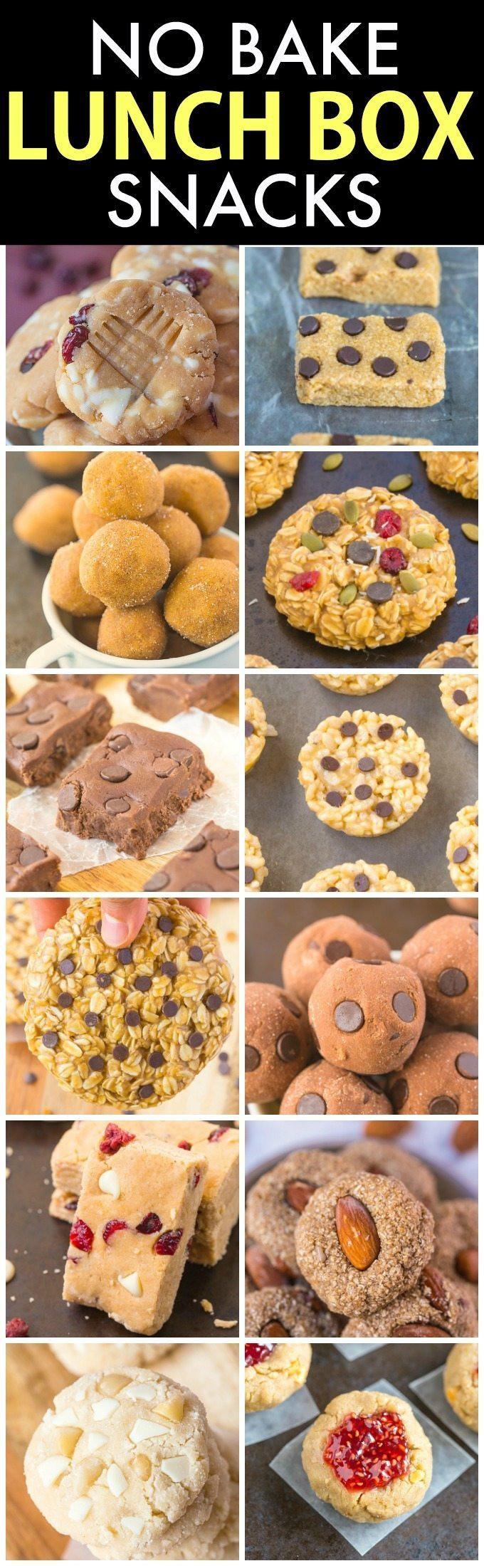 No Bake Healthy Snacks  The Ultimate Healthy No Bake Snacks