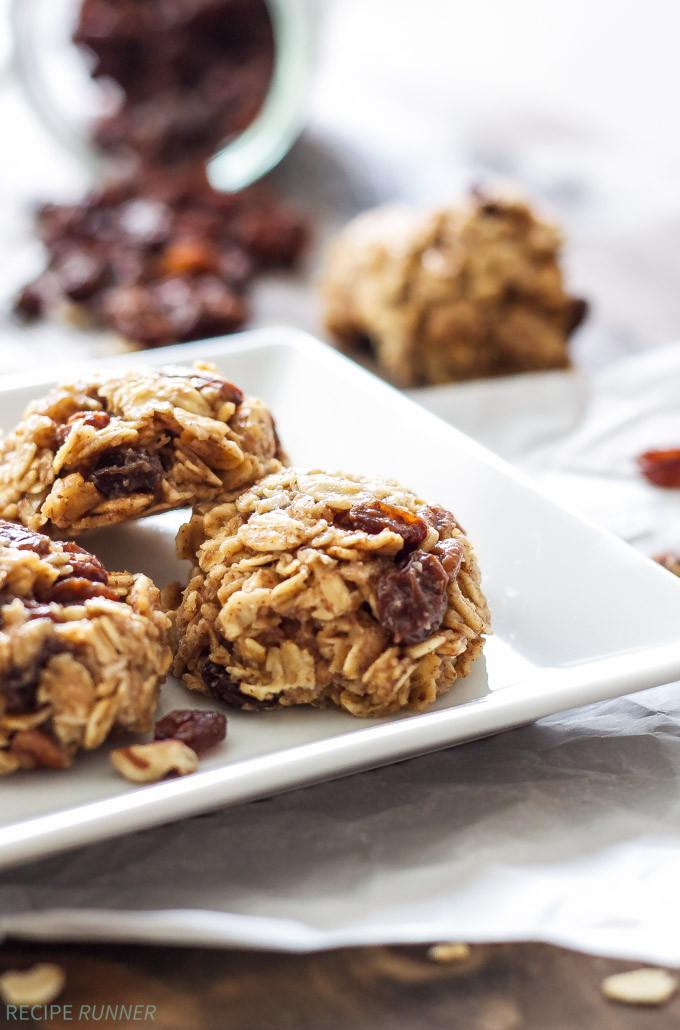 No Bake Oatmeal Cookies Healthy  Healthy No Bake Oatmeal Raisin Cookies Recipe Runner