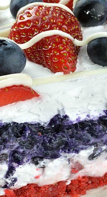 No Bake Summer Berry Lasagna  384 best images about LASAGNA RECIPES on Pinterest