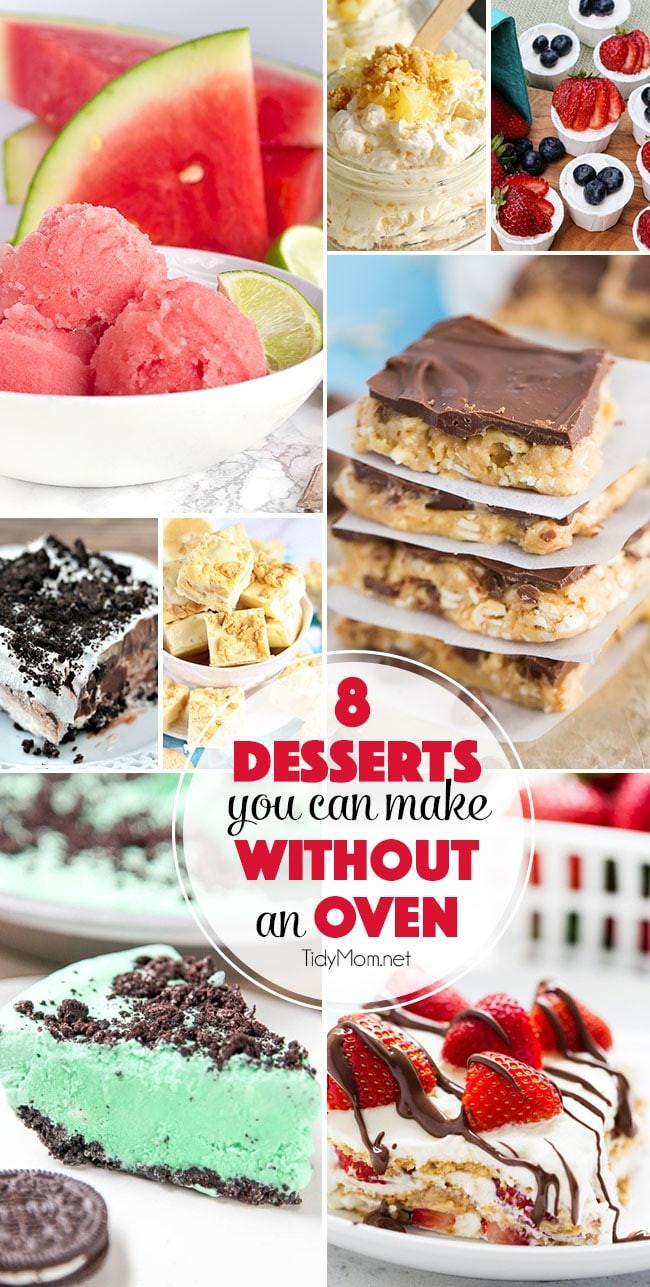 No Bake Summer Desserts  Irresistible No Bake Dessert Recipes