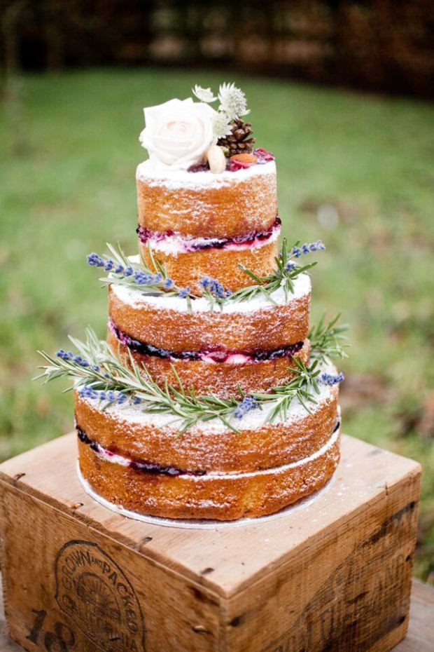No Frosting Wedding Cakes  Best 20 2 tier wedding cakes ideas on Pinterest