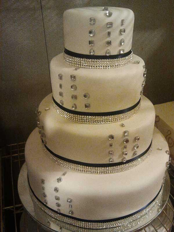 Non Fondant Wedding Cakes  Non fondant wedding cake idea in 2017