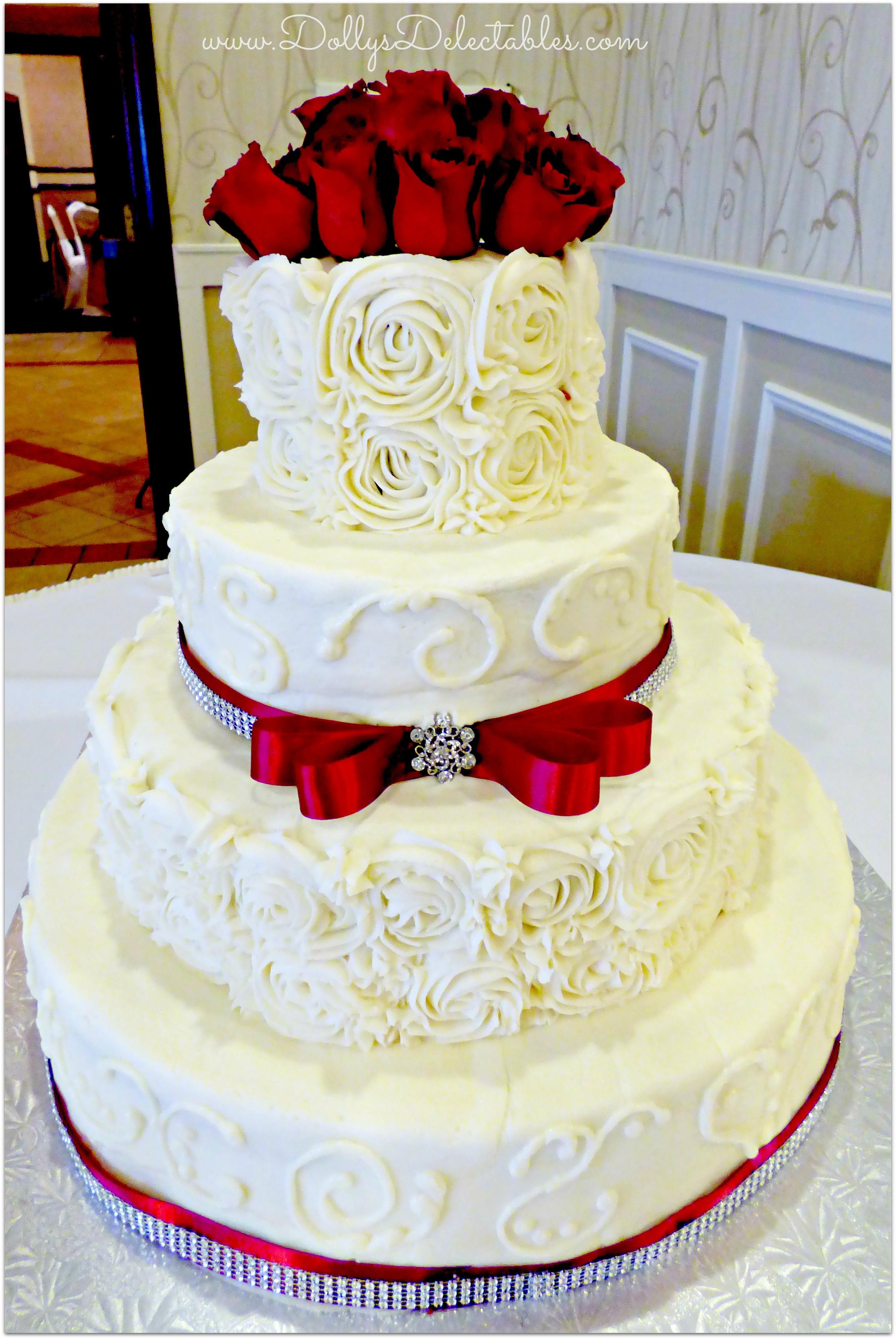 Non Fondant Wedding Cakes  Non Fondant Wedding Cakes