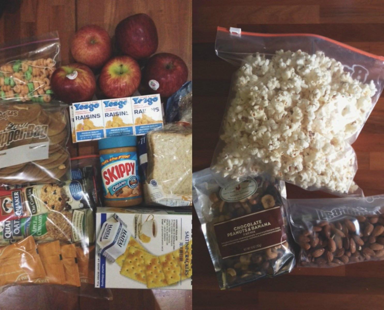 Non Perishable Healthy Snacks  20 Healthy Road Trip Snacks Taking Route