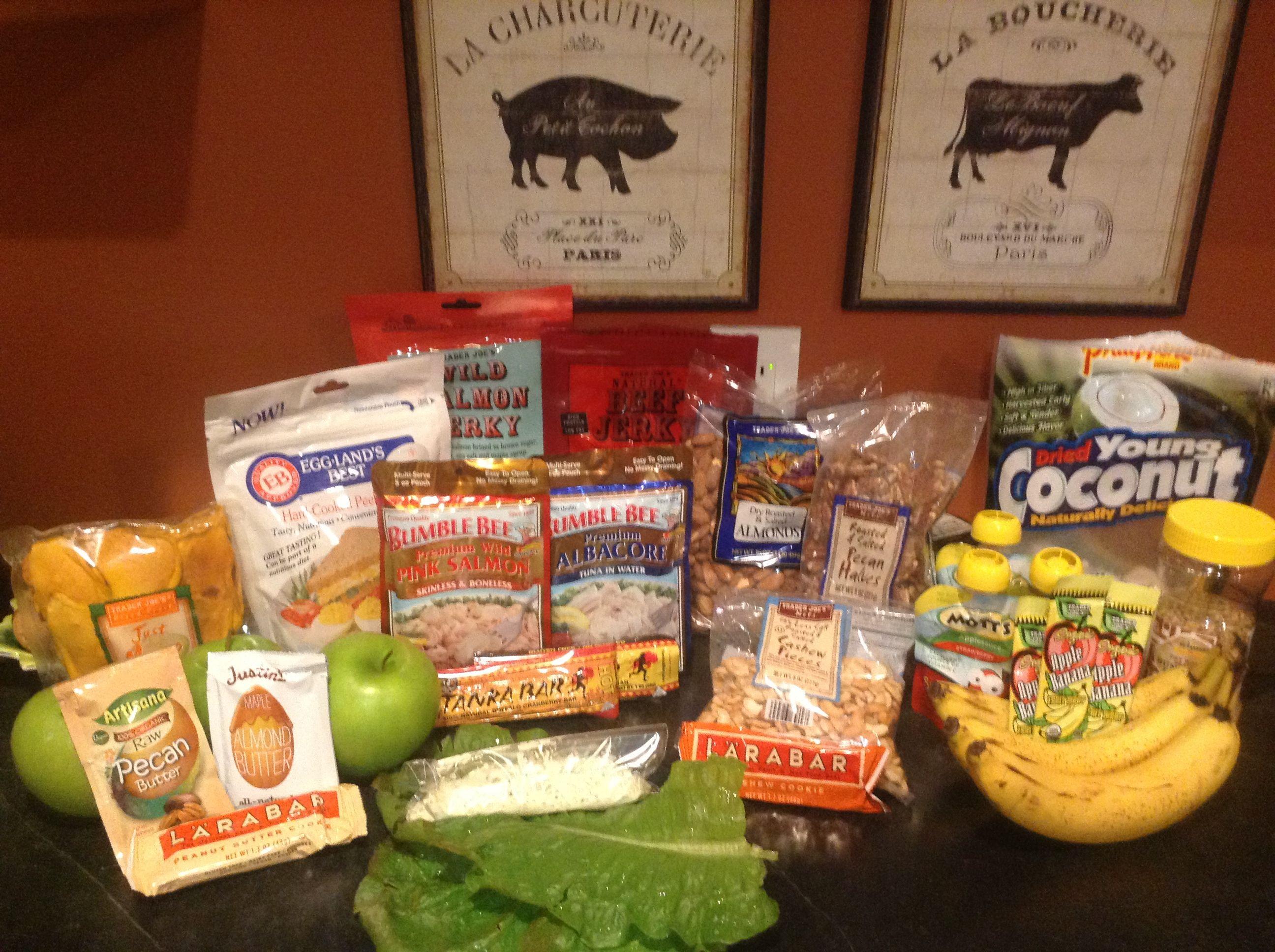 Non Perishable Healthy Snacks  Paleo picnic road trip day trips snack ideas Low fodmap