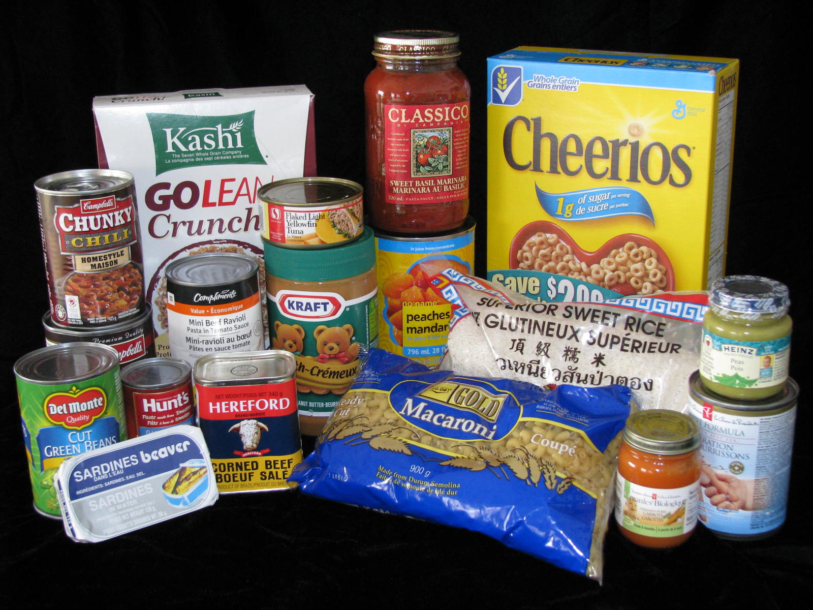 Non Perishable Healthy Snacks  Top 10 Most Wanted Food Items Winnipeg Harvest