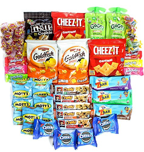 """Non Perishable Healthy Snacks  Healthy and Delicious Snack Package """"Young at Heart"""" Box"""