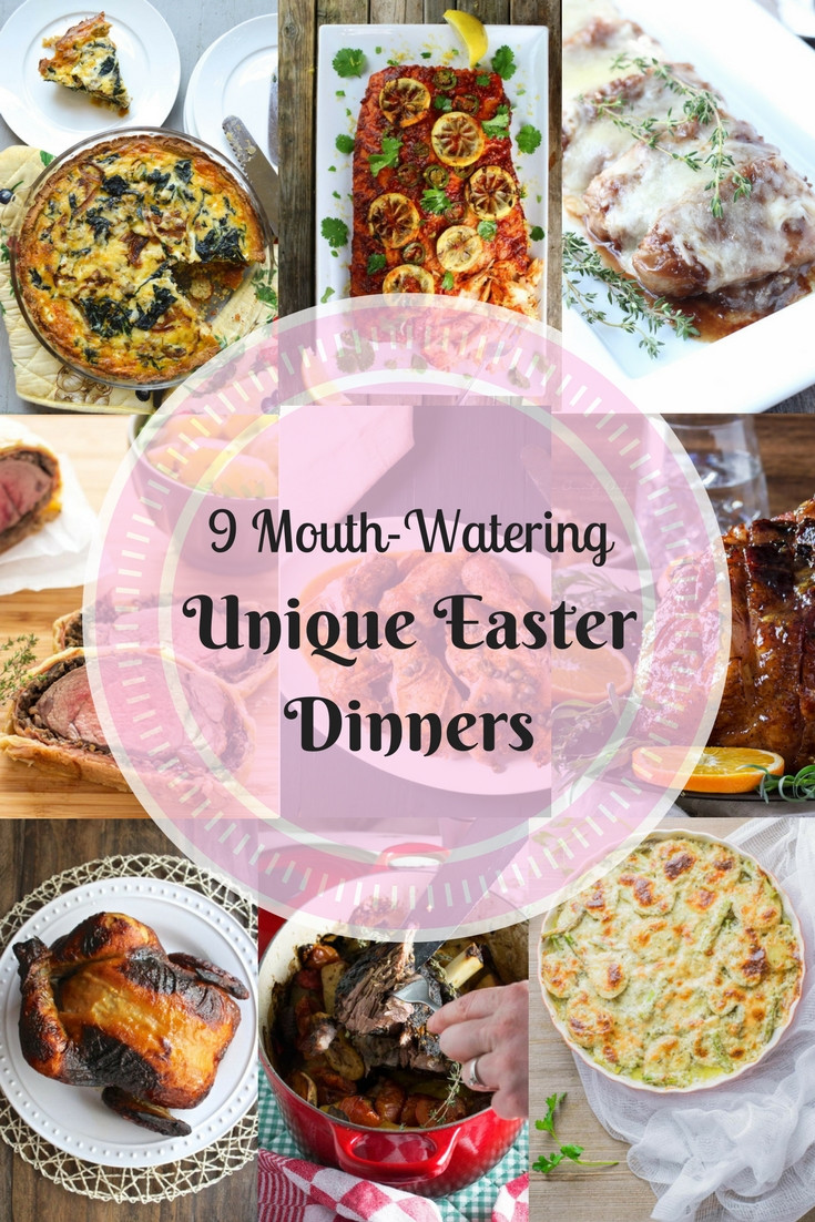 Non Traditional Easter Dinner  9 Mouth Watering Unique Easter Dinners ⋆ The Sunday Glutton