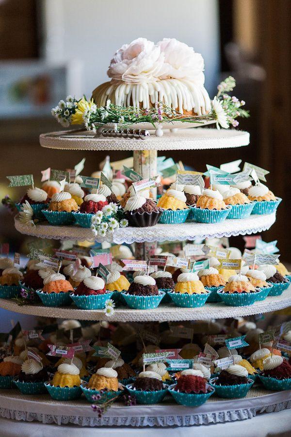 Nothing Bundt Cakes Wedding  Woodland Park Wedding