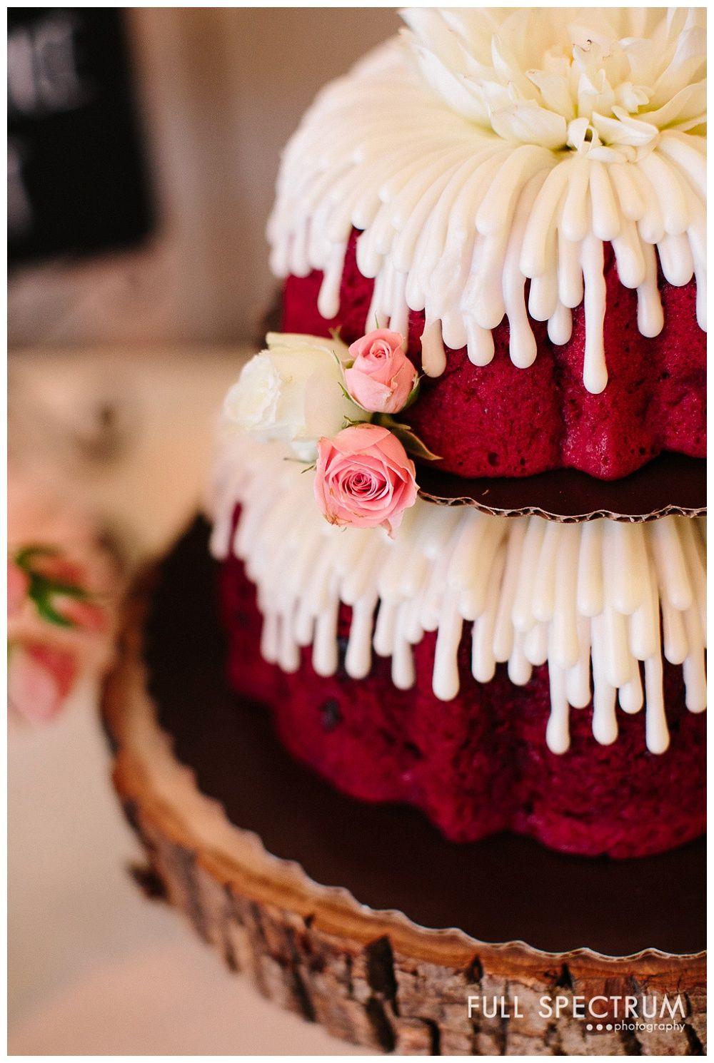 Nothing Bundt Cakes Wedding  Nothing Bundt Cakes Wedding Cake Strawberry farms Wedding