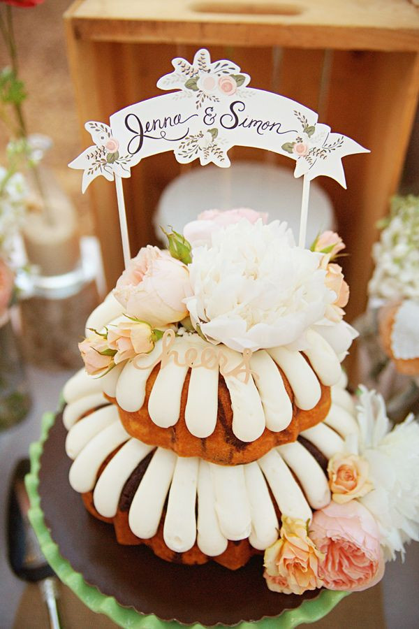 Nothing Bundt Cakes Wedding  Top 22 Nontraditional Wedding Cake Ideas