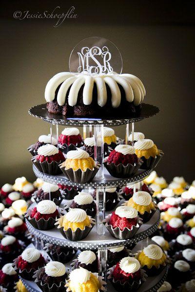 Nothing Bundt Cakes Wedding  1000 images about Bundt Cake Wedding & Events on