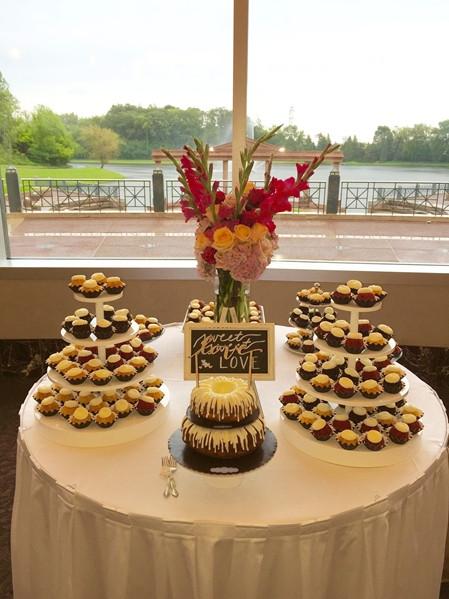 Nothing Bundt Cakes Wedding  Forever Bride Nothing Bundt Cakes Minnetonka