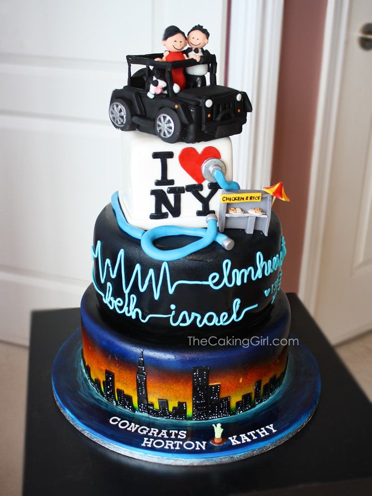 Nyc Wedding Cakes  Most wedding cakes for celebrations New york themed