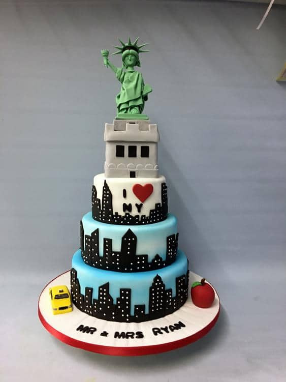 Nyc Wedding Cakes  Wedding Cakes Amazing cakes Irish wedding cakes based in