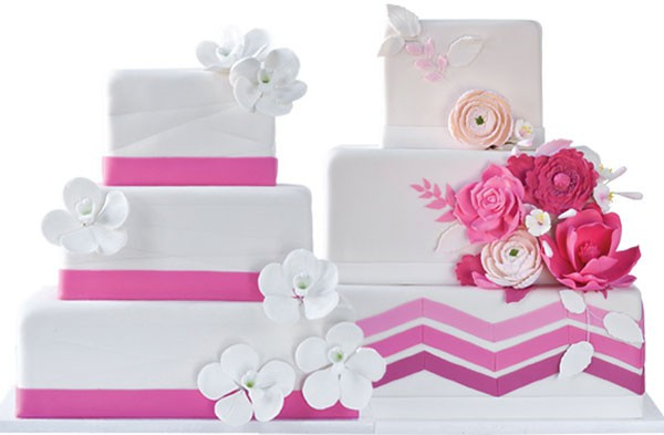Oakmont Bakery Wedding Cakes  Sweet Choices Traditional wedding cakes don t have to be