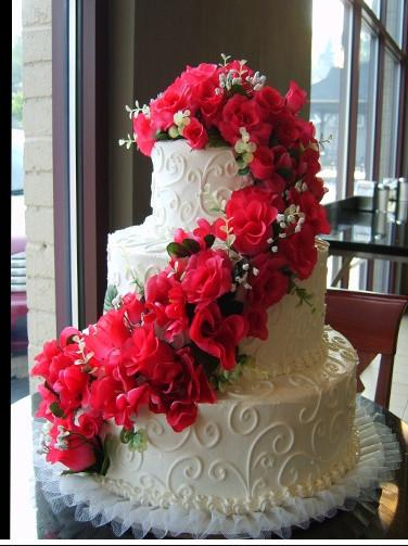 Oakmont Bakery Wedding Cakes  oakmont bakery wedding cake Perfect Pinks