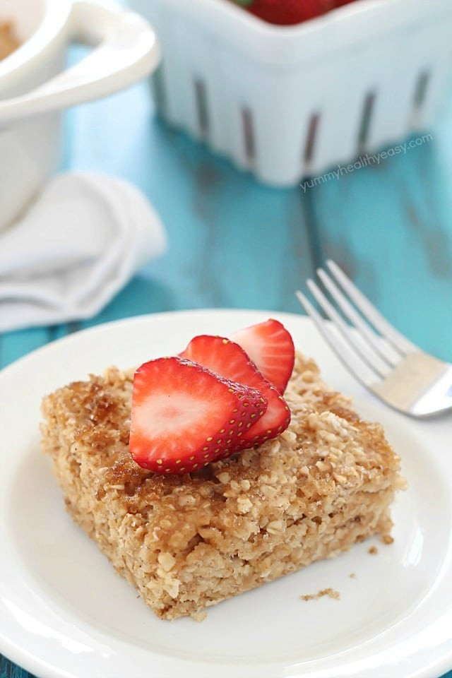 Oatmeal Breakfast Bake Healthy  Healthy Baked Oatmeal Yummy Healthy Easy