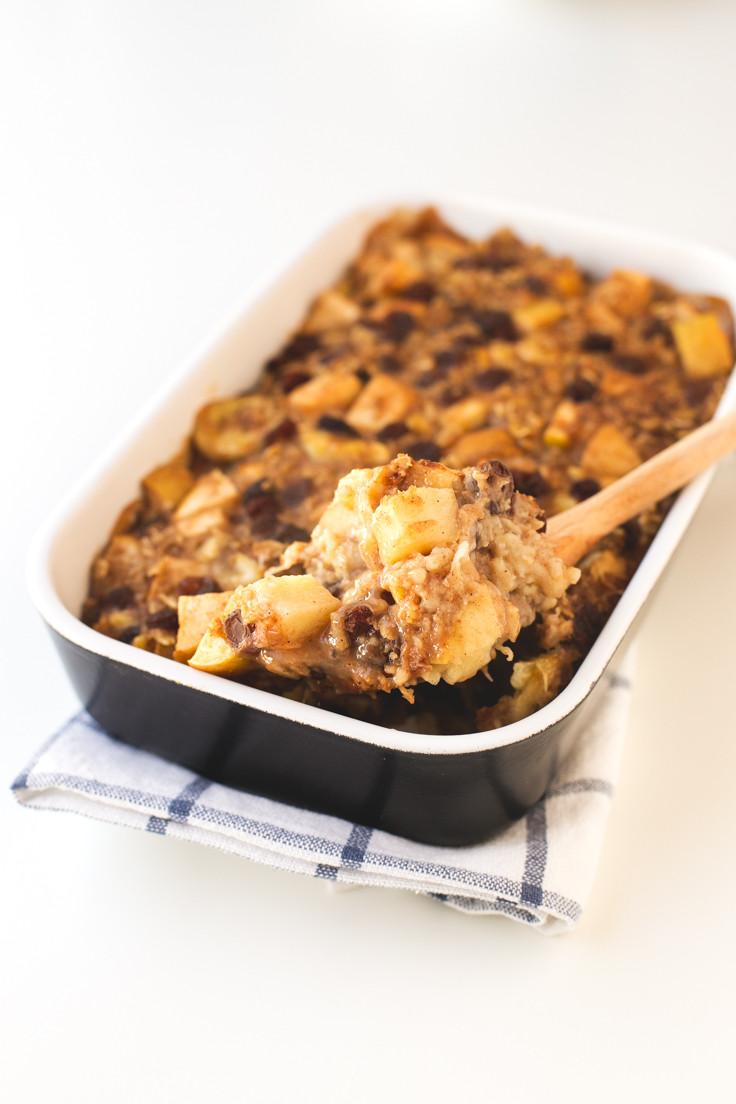 Oatmeal Breakfast Bake Healthy  Apple Pie Baked Oatmeal