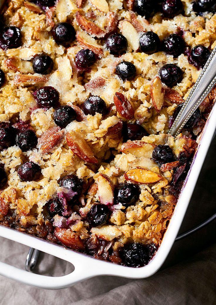 Oatmeal Breakfast Bake Healthy  Best 25 Baked oatmeal casserole ideas on Pinterest