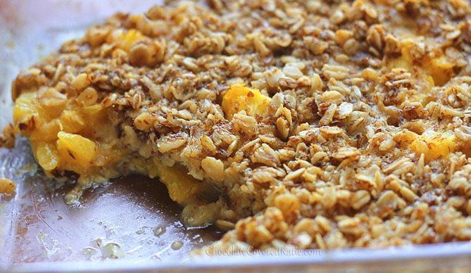 Oatmeal Breakfast Bake Healthy  Sunshine Breakfast Baked Oatmeal Recipe