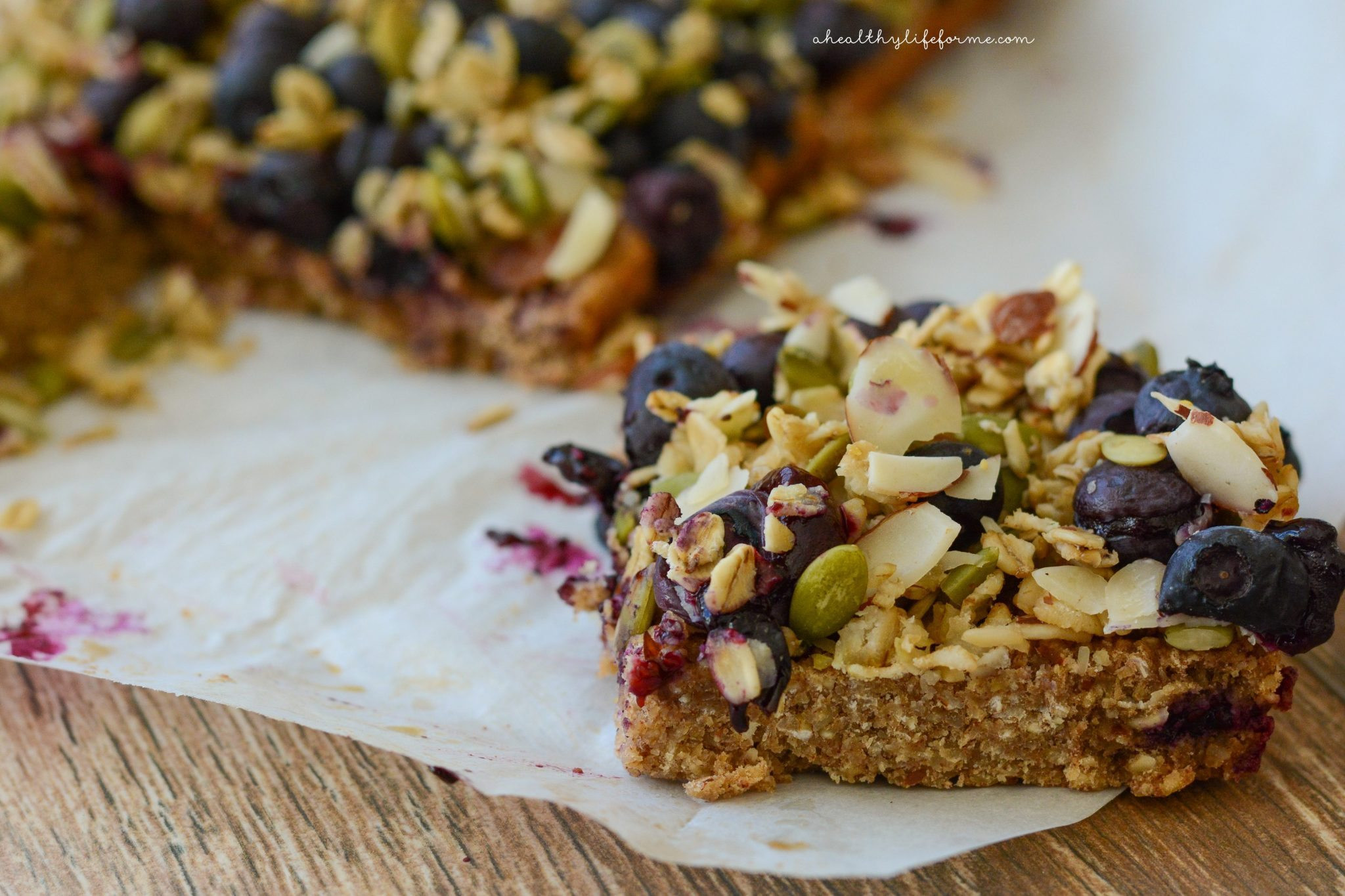 Oatmeal Breakfast Bars Healthy  Oatmeal Superfood Breakfast Bars A Healthy Life For Me