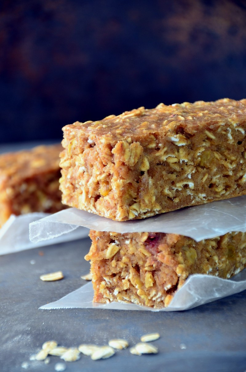 Oatmeal Breakfast Bars Healthy  Oatmeal Breakfast Bars