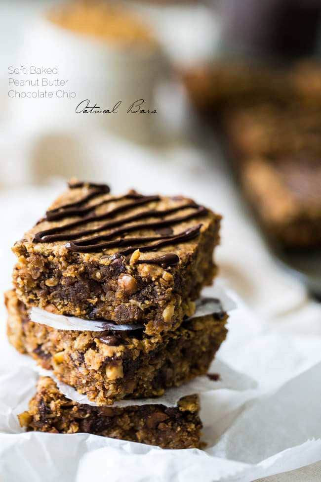 Oatmeal Breakfast Bars Healthy  Oatmeal Breakfast Bars Gluten Free