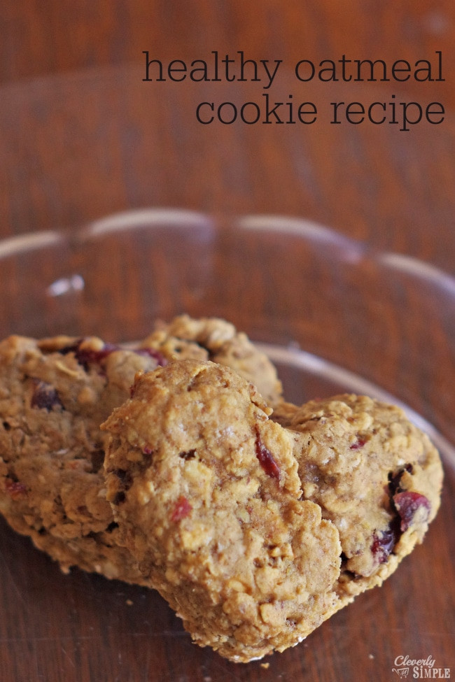 Oatmeal Cookies Recipe Healthy  Healthy Oatmeal Cookie Recipe Made with Flax Seed Instead