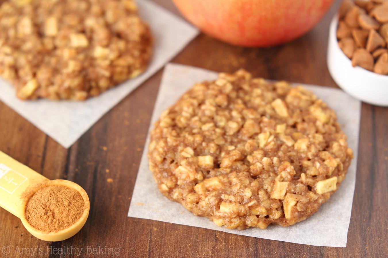 Oatmeal Cookies Recipe Healthy  Apple Pie Oatmeal Cookies Recipe Video