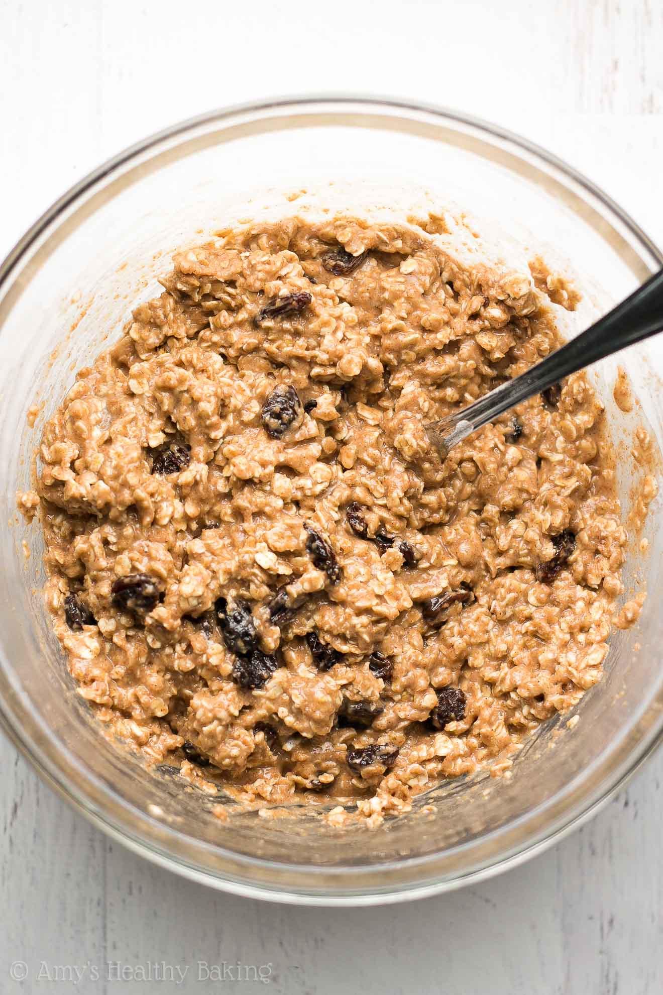 Oatmeal Healthy Breakfast  Healthy Oatmeal Raisin Breakfast Cookies