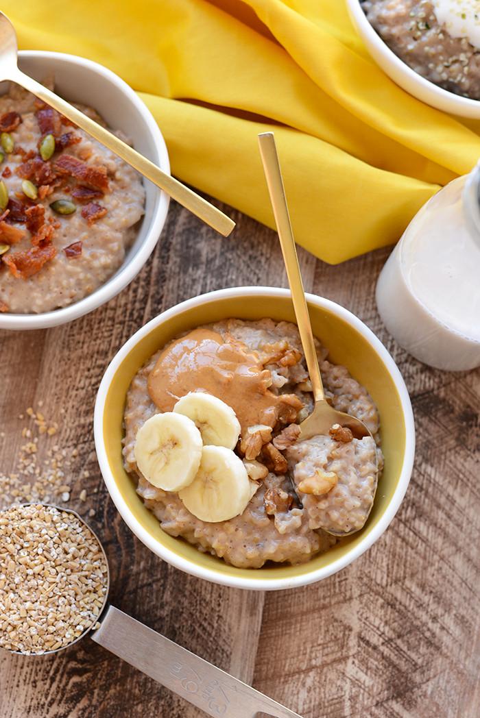 Oatmeal Healthy Breakfast  Healthy Slow Cooker Breakfast Recipes
