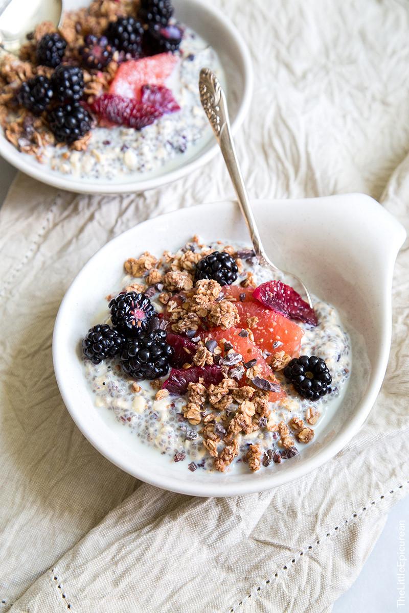 Oatmeal Healthy Breakfast  Oatmeal Recipe — Dishmaps