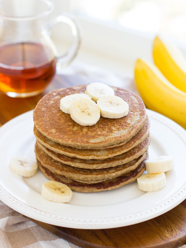 Oatmeal Pancakes Healthy  healthy oatmeal banana pancakes