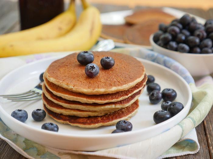Oatmeal Pancakes Healthy  Healthy Oatmeal Banana Pancakes Gluten free
