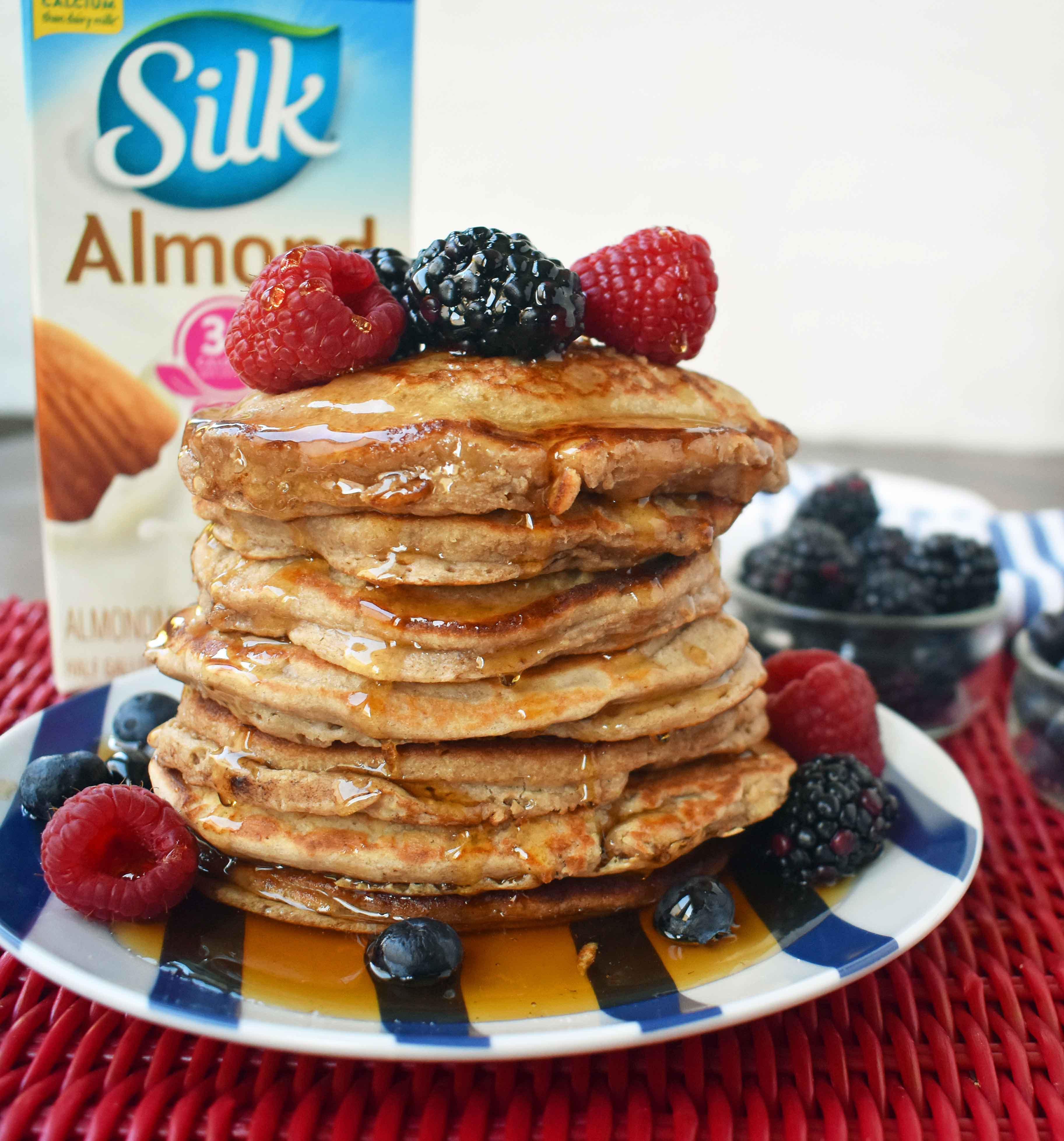 Oatmeal Pancakes Healthy  Banana Oatmeal Pancakes – Modern Honey