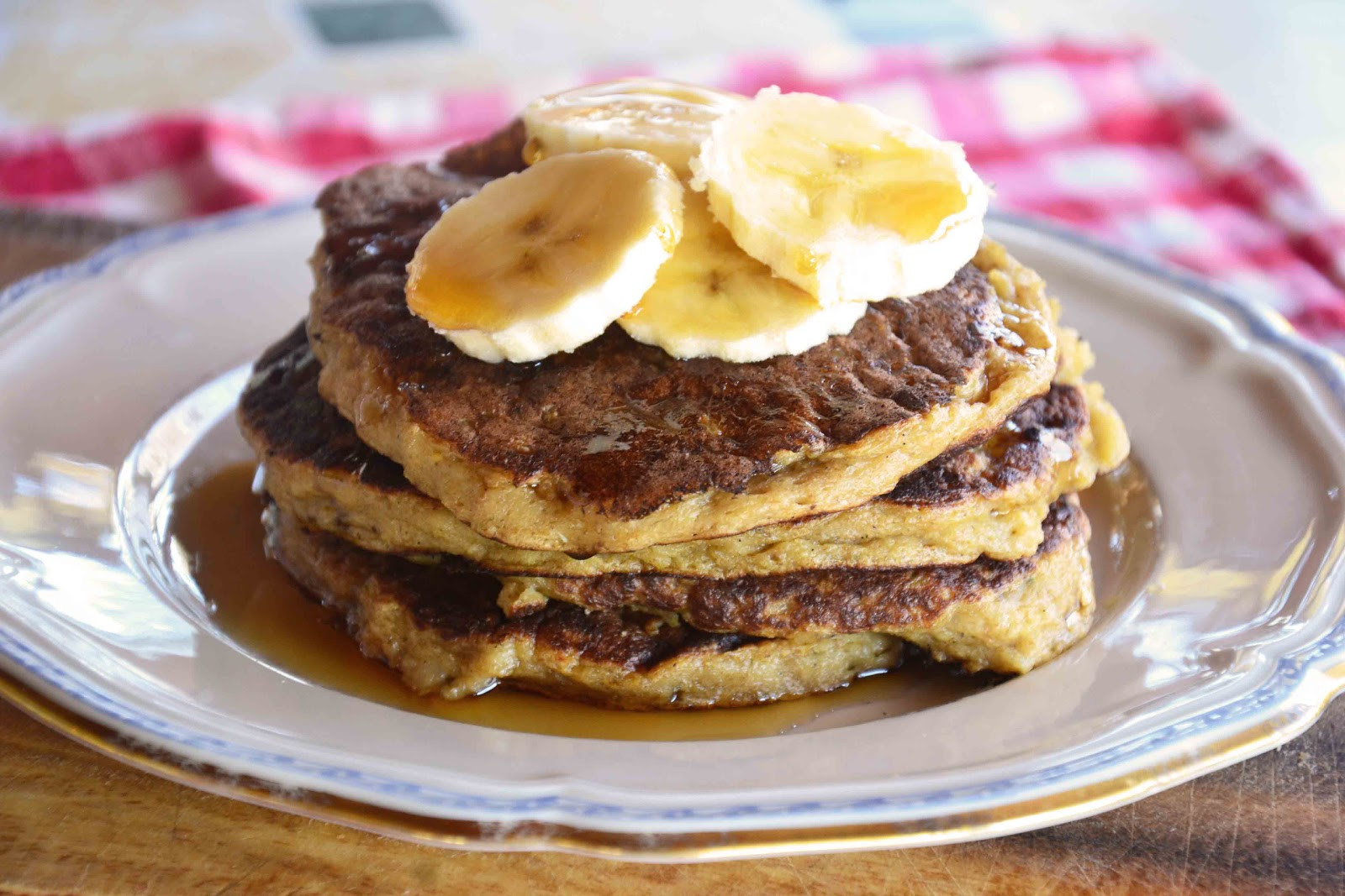 Oatmeal Pancakes Healthy  The eccentric Cook Oatmeal Pancakes Oatmeal Banana Cake