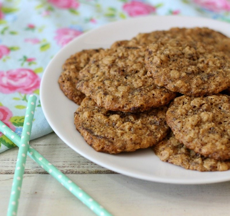 Oatmeal Peanut Butter Cookies Healthy  Healthy Peanut Butter Maple Oatmeal Cookies