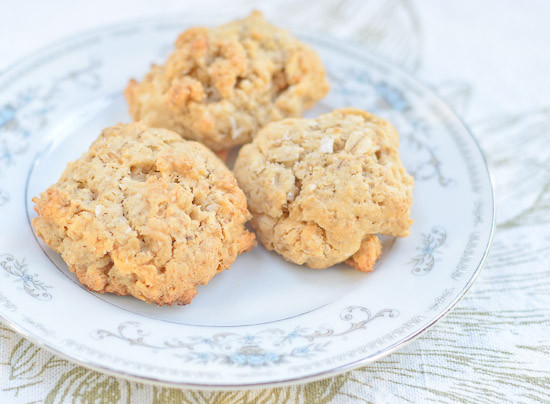 Oatmeal Peanut Butter Cookies Healthy  Healthy Peanut Butter Coconut Oatmeal Cookies Recipe