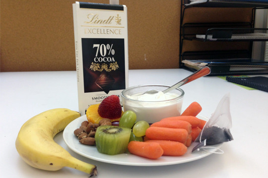 Office Healthy Snacks 20 Ideas for Healthy Filling Snacks to Keep at Your Desk
