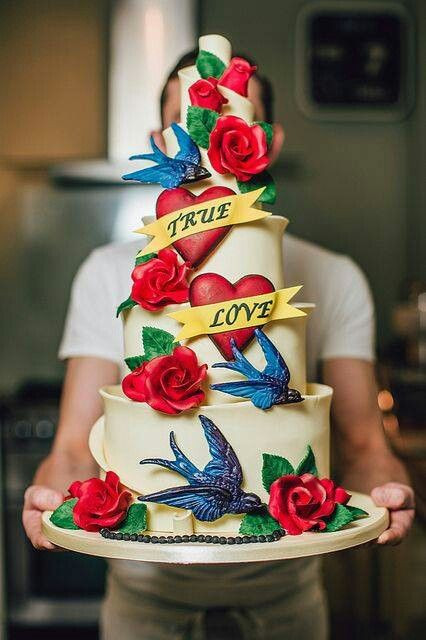 Old School Wedding Cakes  286 best images about Haute Cakes  on Pinterest