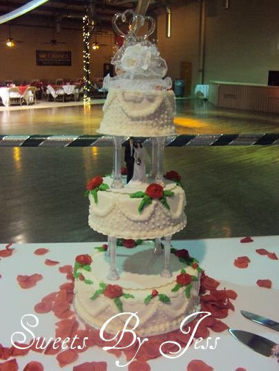 Old School Wedding Cakes  Old school wedding cake Cake by Jess B CakesDecor
