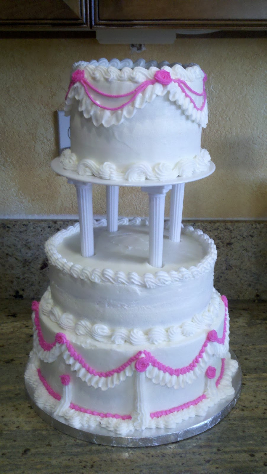 Old School Wedding Cakes  Sweet Cakes Wedding Cake Old School