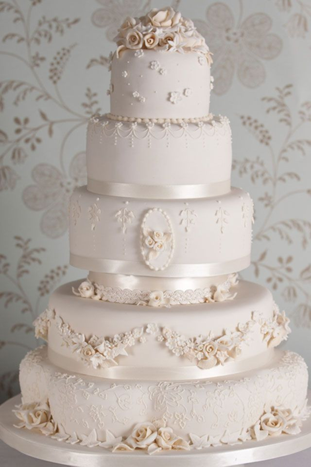 Old School Wedding Cakes  9 best images about wedding cakes on Pinterest