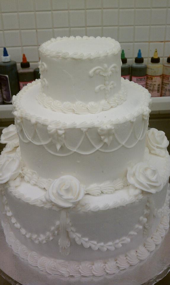 Old School Wedding Cakes  old school Cake Decorating munity Cakes We Bake